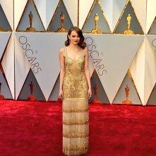 Oscar 2017: Emma Stone sul red carpet