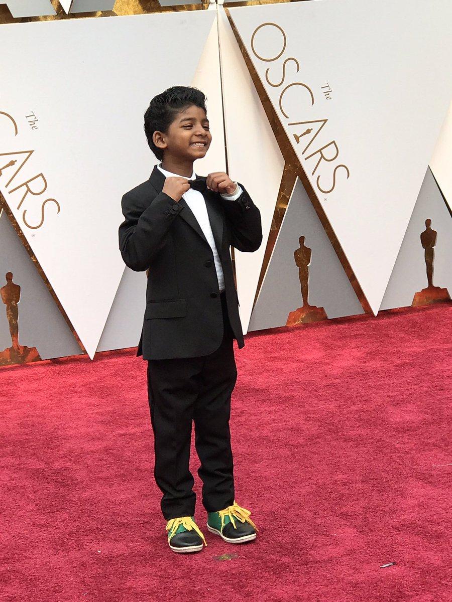 Oscar 2017, l'adorabile Sunny Pawar, la star di Lion