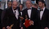 Oscar 2017, che figuraccia epica! La La Land premiato al posto di Moonlight per errore!