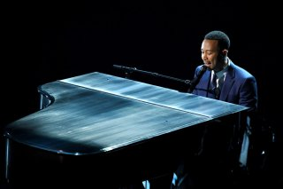 Oscar 2017: la performance di John Legend