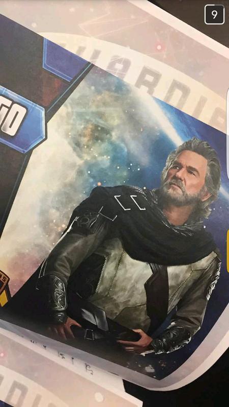 Guardiani della Galassia Vol. 2: Kurt Russell nei panni di Ego il Pianeta Vivente