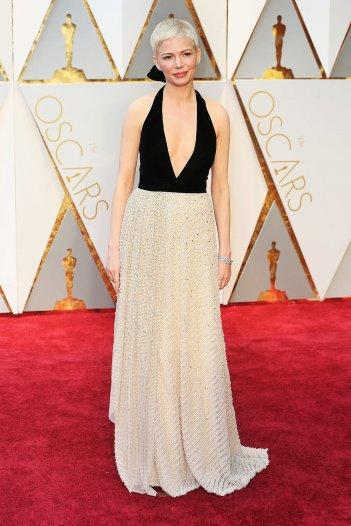 Oscar 2017: Michelle Williams sul red carpet