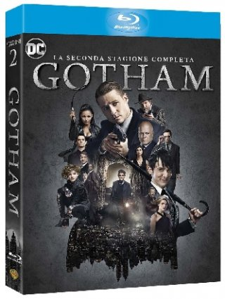 La cover blu-ray di Gotham - Stagione 2