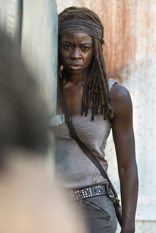 The Walking Dead: l'attrice Danai Gurira in Say Yes