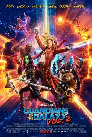 Guardiani della Galassia 2: il nuovo poster del film Marvel!