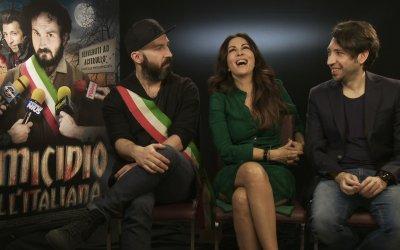 """Omicidio all'italiana, Sabrina Ferilli sul trono con Maccio ed Herbert: """"La loro è una comicità unica"""""""