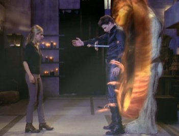 Buffy the Vampire Slayer: il finale dell'episodio L'inizio della storia, parte 2