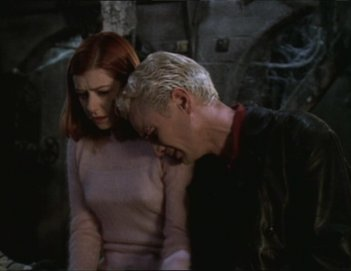 Buffy the Vampire Slayer: una scena dell'episodio Lovers Walk