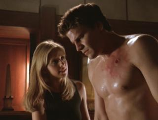 Buffy the Vampire Slayer: un momento dell'episodio La sfida, parte 1