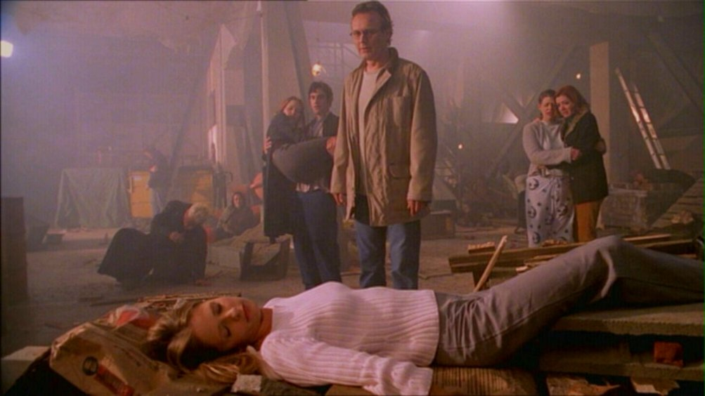Buffy the Vampire Slayer: una scena dell'episodio Il dono