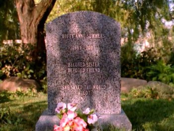 Buffy the Vampire Slayer: l'immagine finale dell'episodio Il dono