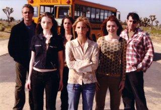 Buffy the Vampire Slayer: una scena di gruppo nel finale di serie, intitolato La prescelta