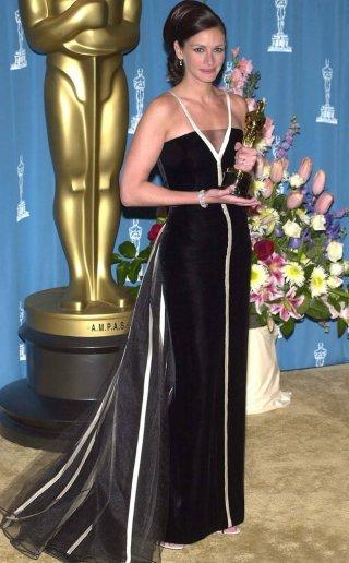 Julia Roberts alla cerimonia degli Oscar del 2001
