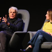 Suburra: una foto di Michele Placido e Gina Gardini