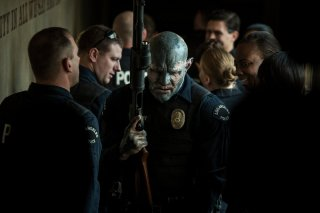 Bright: Joel Edgerton in versione orco in una foto del film