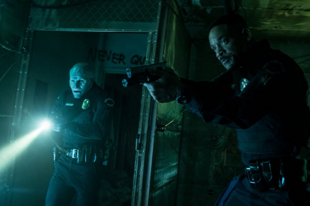 Bright: Joel Edgerton e Will Smith in una foto della serie