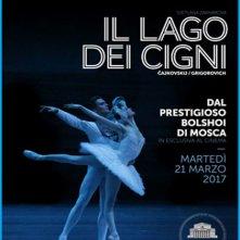 Locandina di Il Balletto del Bolshoi: Il lago dei cigni
