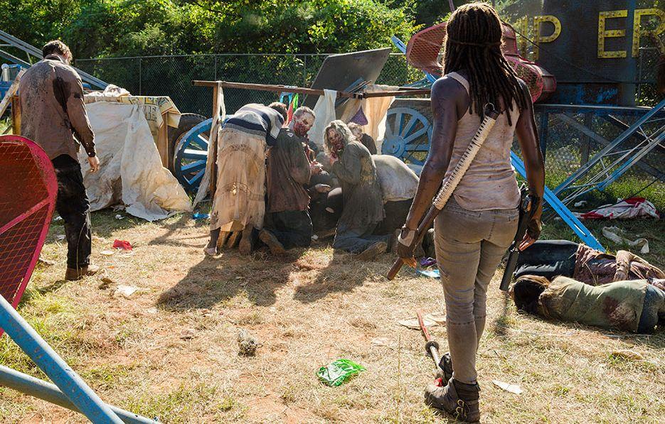 The Walking Dead: una foto dell'attrice Danai Gurira in Say Yes
