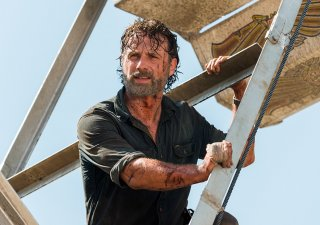 The Walking Dead: un'immagine di Andrew Lincoln in Say Yes