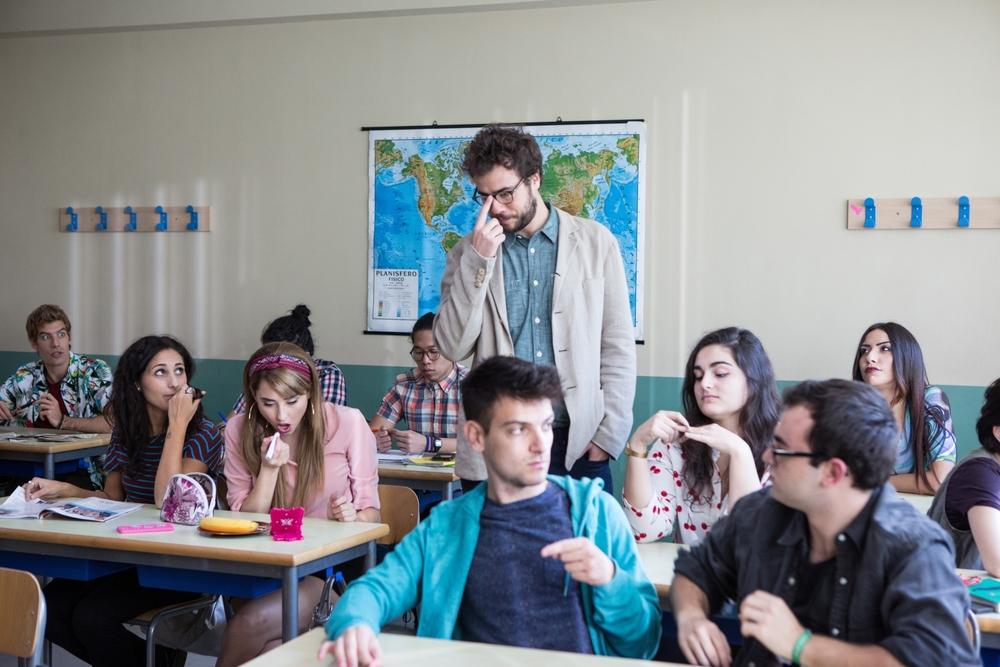 Classe Z: Andrea Pisani e Greta Menchi in un momento del film