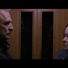 Dall'altra parte: Lazar Ristovski e Ksenija Marinkovic in una scena del film