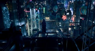 Ghost in the Shell: un'mmagine tratta dal film