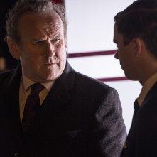 Il viaggio: Colm Meaney e Freddie Highmore in una scena del film