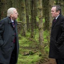 Il viaggio: Timothy Spall e Colm Meaney in una momento del film