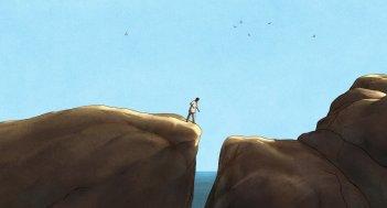 La tartaruga rossa: un'immagine del film d'animazione