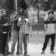 Per un figlio: il regista Suranga Deshapriya Katugampala sul set del film