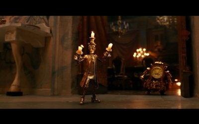 "Beauty and the Beast - Clip ""Lumiere Plots Romance"""