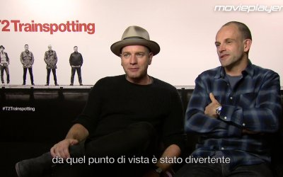 T2 Trainspotting: Video intervista a Ewan McGregor e Jonny Lee Miller