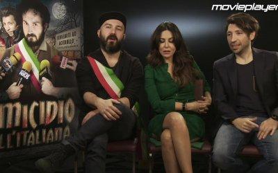 Omicidio all'italiana: Video intervista a Sabrina Felilli, Maccio Capatonda ed Herbert Ballerina