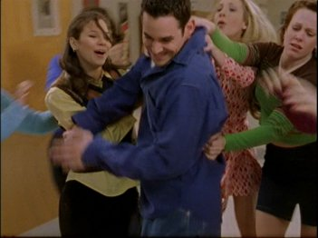 Buffy the Vampire Slayer: una scena dell'episodio Bewitched, Bothered and Bewildered