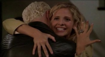 Buffy the Vampire Slayer: una scena dell'episodio Something Blue