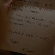 The Vampire Diaries: la lettera di Klaus
