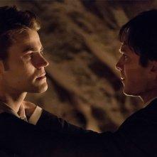 The Vampire Diaries: Paul Wesley e Ian Somerhalder nel finale