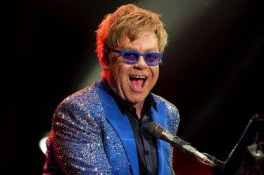 Elton John ad un concerto