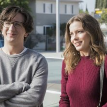 Love: i protagonisti Paul Rust e Gillian Jacobs in una foto della seconda stagione