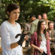 The Walking Dead: Lauren Cohan in una foto di The Other Side