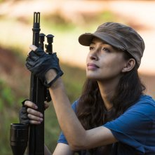 The Walking Dead: Christian Serratos in un'immagine di The Other Side