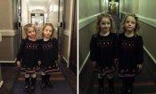 Shining: due gemelle terrorizzano gli ospiti degli alberghi come nell'horror di Kubrick