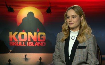 """Brie Larson: """"Sul set di Kong io e Samuel L. Jackson siamo diventati amici: sarà nel mio primo film"""""""