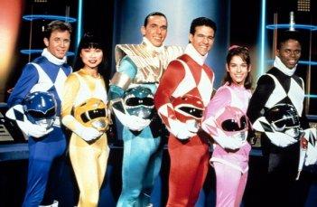 Power Rangers: una foto dei personaggi della serie del 1993