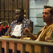 Hap and Leonard: Michael K. Williams e James Purefoy in una foto della seconda stagione