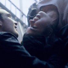 Victoria: Laia Costa e Frederick Lau in un momento del film