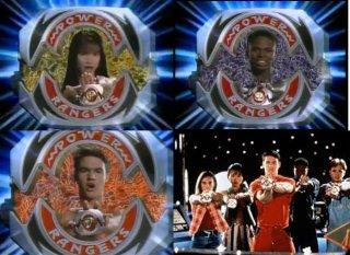 Power Rangers: trasformazione