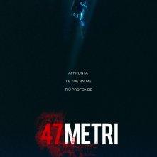 47 metri: il poster italiano del film