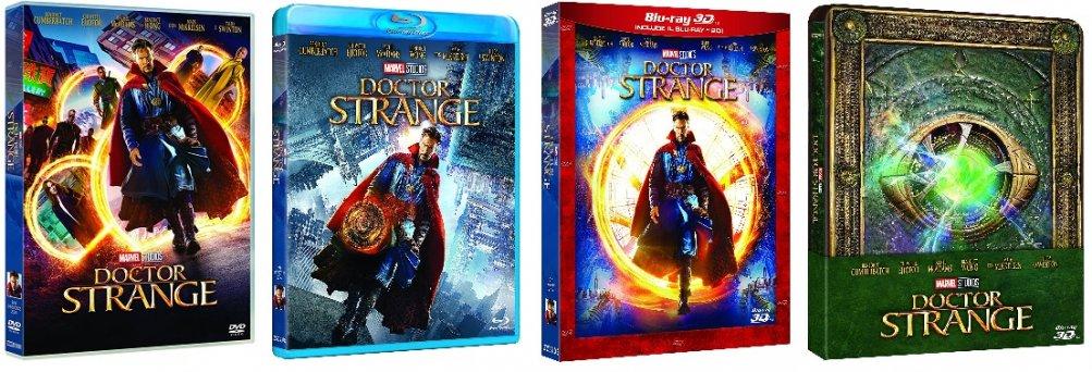 Le cover homevideo di Doctor Strange