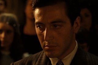 Il Padrino: un primo piano di Al Pacino